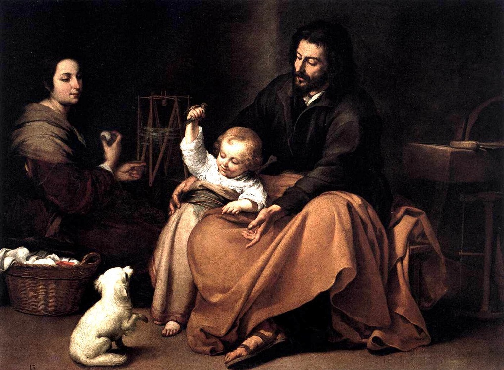 20 The Holy Family with the Little Bird - Bartolome Esteban Murillo